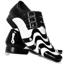 Sapato Social Masculino Couro Legítimo Moda Lançamento