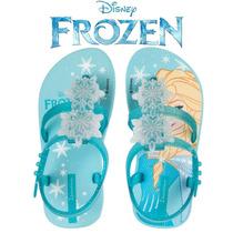 Sandália Frozen Baby Elsa Ipanema 25927 - Azul