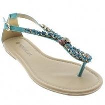 Sandália Feminina Rasteira Mooncity 20704 - Maico Shoes