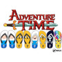 Chinelos A Hora Da Aventura - Finn - Jake - Marceline