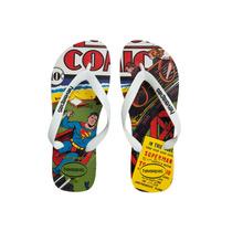 Chinelo Havaianas Herois - Superman - Masculino - Way Tenis