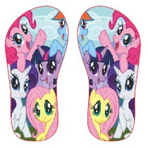 Chinelo Personalizado My Little Pony Infantil