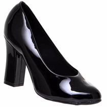Sapato Scarpin Vizzano Verniz Feminino Leve Lindo 1172310