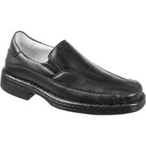 Sapato Casual Antistress Anatomico Flexivel Confort Para Pés