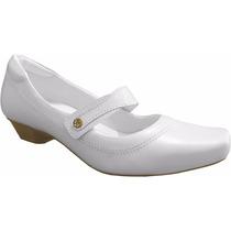 Sapato Enfermagem Branco Feminino