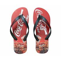 Chinelo Coca Cola Masculino