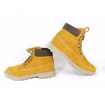 Bota Coturno Estilo Urbano Yellow Botts Marca Dakar Couro