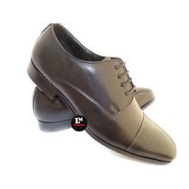 Sapato Social Masculino Executivo Solado Em Couro .