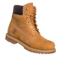 Bota Timberland Feminina Yellow Boot 6 Premium Bege Palha