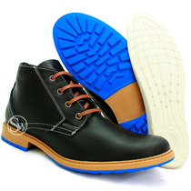 Coturno Bota Adventure 100% Couro Worker Stillo West Coast