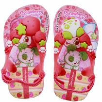 Chinelo Moranguinho Baby Infantil Menina - 25511 Rosa