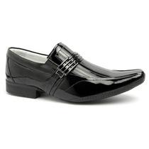 Sapato Verniz Alcalay Social 100% Couro Legítimo Ref. 78042