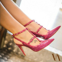 Scarpin Tabita Valentino Inspired Pink