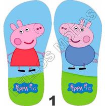 Chinelo Personalizado Infantil Peppa Pig