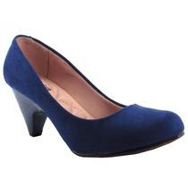 Sapato Feminino Scarpin Salto Médio Moleca 5090254