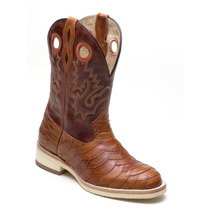 Bota Texana Masculina Escamada Roper, Country