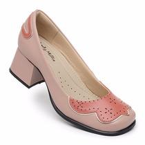 Sapato Boneca Estilo Retro Nr.34 (palmilha Sistema Comfort)