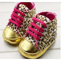Sapato Tenis De Bebe Importado All Star Oncinha