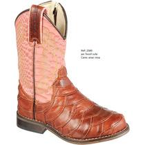 Bota Texana Infantil Feminina Buffalo