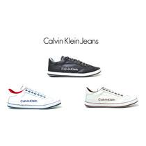 Tenis,sapatenis,sapato Calvin Klein Couro