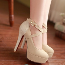 Sapato Importado Salto Alto Femenino Lançamento Promoção