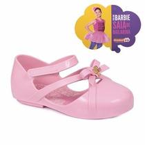 Sapatilha Barbie Ballet Baby- Acompanha Saia De Bailarina