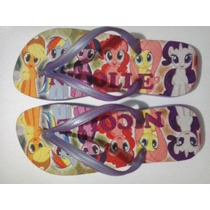 Chinelo Personalizado My Little Pony Infantil