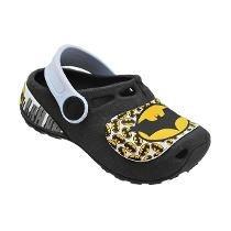 Sapato Infantil Yuupiii Igual Crocs Tipo Batman Babuche