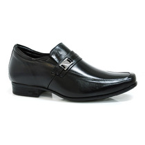 Sapato Social Com Salto Interno Jota Pe - Vizzent Calçados