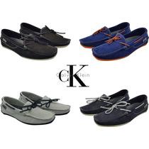 Sapato Mocassim Em Couro Calvin Klein Original, Sapato Drive