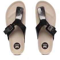 Chinelo Zaxy Fashion Flat - Preto - Molesinha Calçados