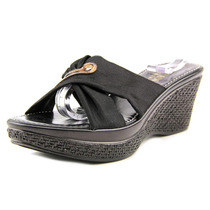 Italian Shoe Makers Katie Mulheres Synthetic Wedge Sandal