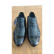 Sapato Social Zara Preto Verniz