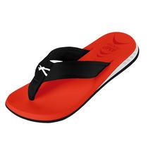 Sandália Masculina Kenner Nk 5 Amp Colors Vermelho