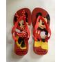 Chinelo Havaianas Personalizado - Mickey E Minnie