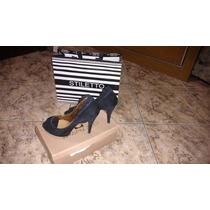 Sapato Social Stilleto - Preto Nº 39
