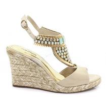 Sandália Zariff Shoes Anabela Espadrille | Zariff