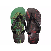 Chinelo Havaianas Star Wars Yoda Darth Vader