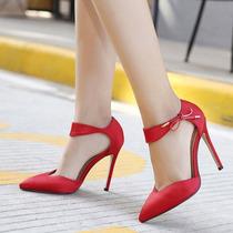 Sapato Feminino Sandália Salto Alto Importado