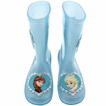 Galocha Grendene Kids Infantil Azul Frozen Original + Nota