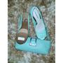 Sapato Peep Toe Nº 35 + Bolsa Couro - Novos