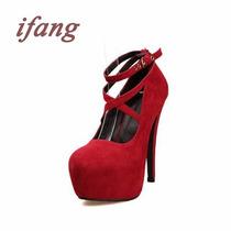 Sapatos Feminino De Salto Alto Lindos