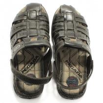 Sandália Masculina Pegada Marrom Casual 30615 | Zariff