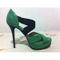 Sandália Salto 15, Verde Lindíssima Nova!