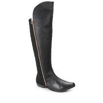 Bota Over Knee Conforto Feminina Comfortflex - Preto
