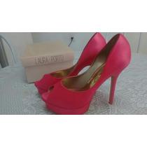 Sapato Meia Pata Noiva Rosa/pink