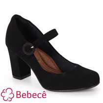 Sapato Boneca Bebecê Conforto Salto 7,5 Cm 6512-305