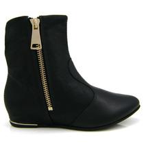 Bota Ankle Boot Ramarim Total Comfort 1560101 Olfer Calçados