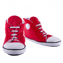 Chinelos Mulheres - Red Mens Uk 7-10 Hi-top Estilo Retro