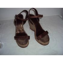 Sandália Plataforma Feminino Prego Tamanho 35